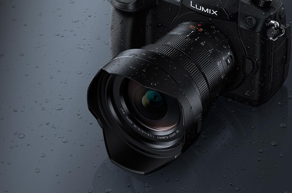 The Leica DG 8-18mm Vario-Elmarit wide-angle zoom on the flagship Panasonic GH5
