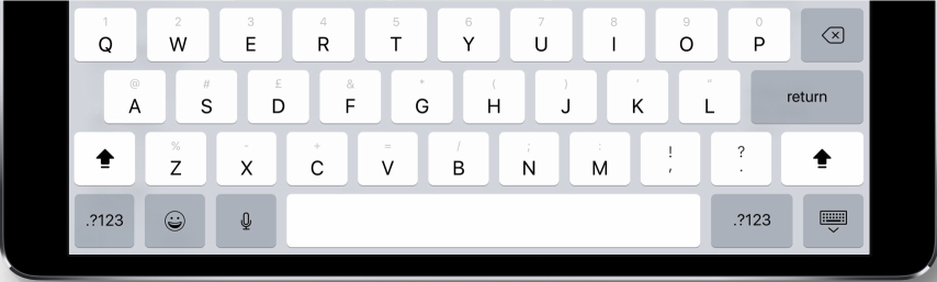 Another productivity boost — for the iPad only — is direct access to symbols from the alpha keys; the need to keep switching keyboard views for symbols such as # has been a constant irritant and a has always slowed down typing