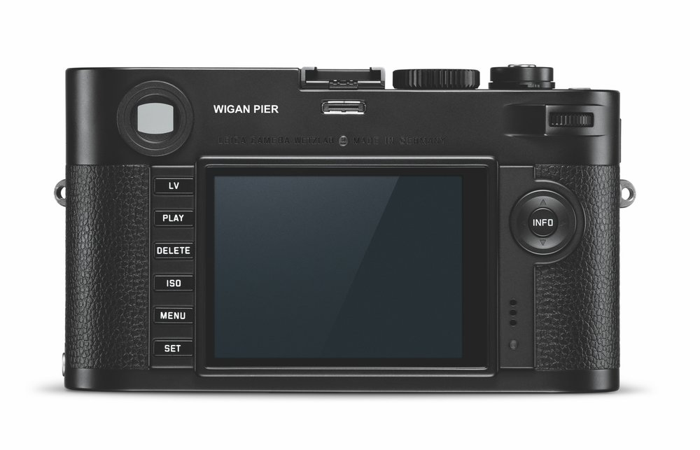 Mercifully we don't have an illustration of the Stickky Q to hand, but you might be tempted by the Leica Monochrom Wigan Pier Edition, full details below