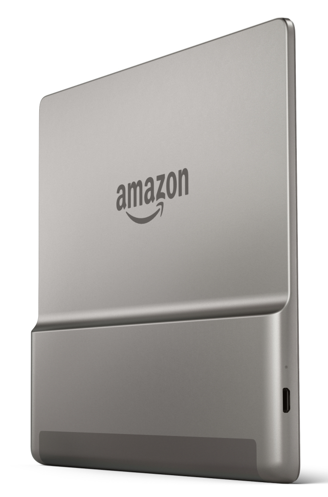 The Kindle Oasis has an aluminium body, with a distinct processor bump, and a price tag to match