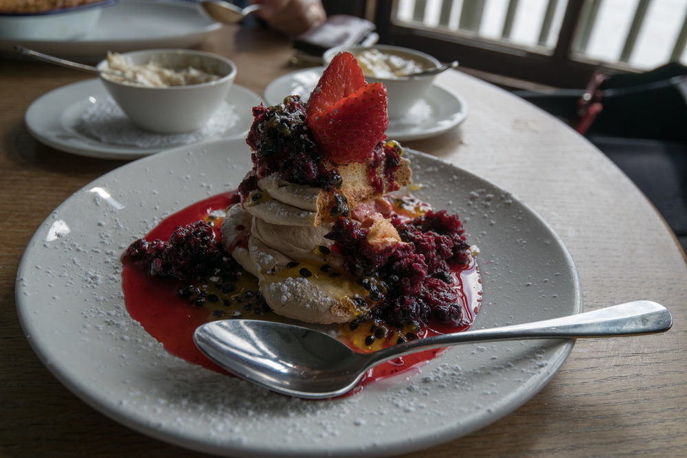 A fine old mess: After a wonderful roast beef and Yorkshire pudding at The Grapes, what better than a dollop of Eton Mess? Food photography is not my forte, but the 11-23mm Super-Vario-Elmar rose to the occasion.