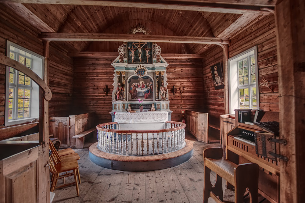 Norwegian Chapel, Canon 6D and 16-35mm