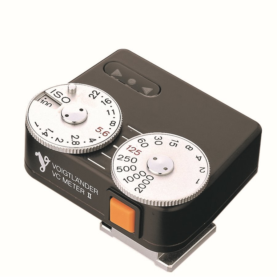 The Voigtländer VC Meter II, even at £229, is the perfect little hot-shoe-mounted accessory for cameras without exposure capabilities — that is, any Leica prior to the M5. It's incredibly easy to use and it is a firm favourite of mine. Now you can pick one up at Red Dot Cameras