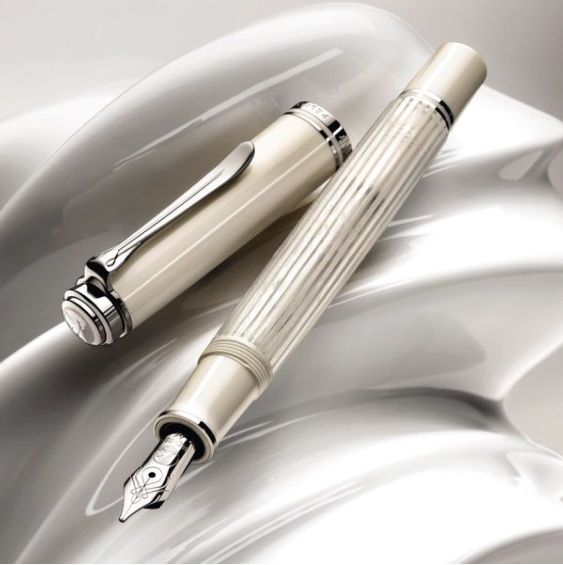 The new Pelikan 605 White Transparent Special Edition costs £325 at Pelikan Pens UK