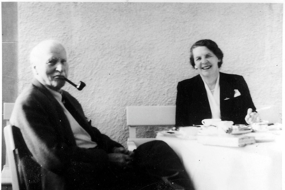 Ruth Bailey with C.G.Jung