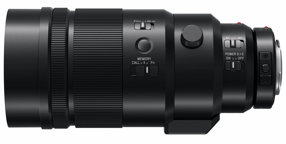 The 200mm f/2.8 comes with a tripod mount and a 1.4x converter to extend range to a 560mm full-frame equivalence. The internal Power OIS system can be combined with 5-axis stabilisation of the new Lumix G9 to give a 6.5-stop advantage in hand-held photography