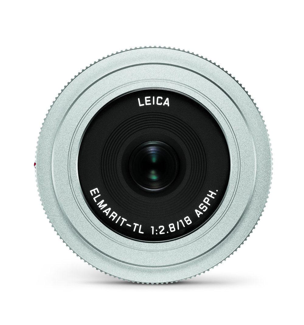 The f/2.8 Elmarit-L is also available in silver finish