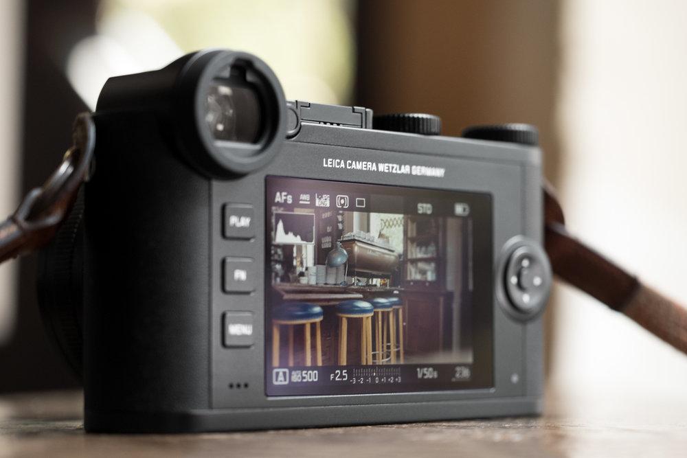 Simplicity, M10-style menus: Image Leica Camera AG