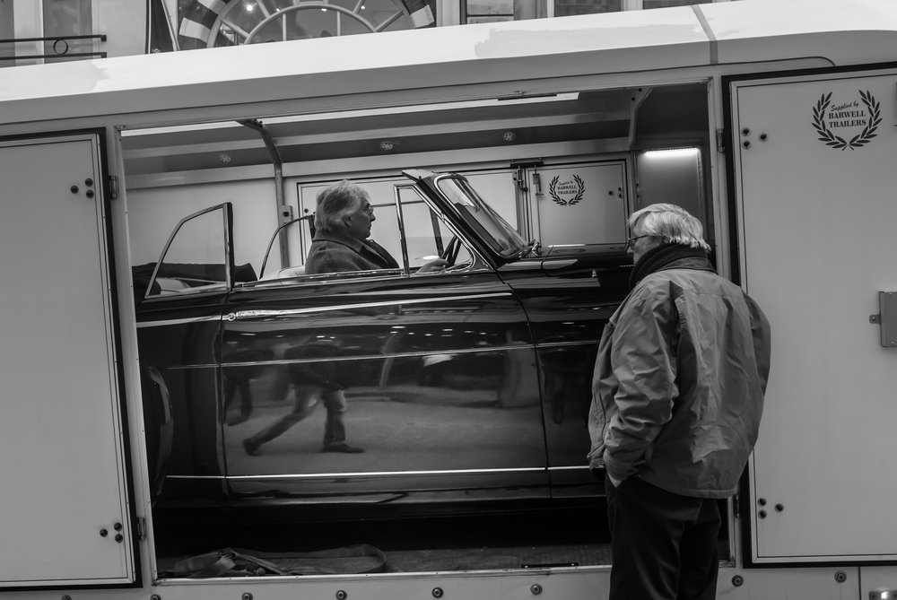 Kevin Armstrong's Bond Street Roller shot with the Leica X1