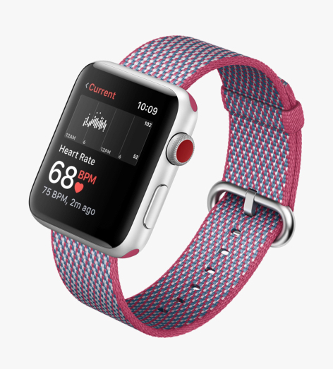 The Apple Watch is capable of constantly monitoring your pulse and can also run the Kardia app to warn if it thinks you need to take an ECG reading