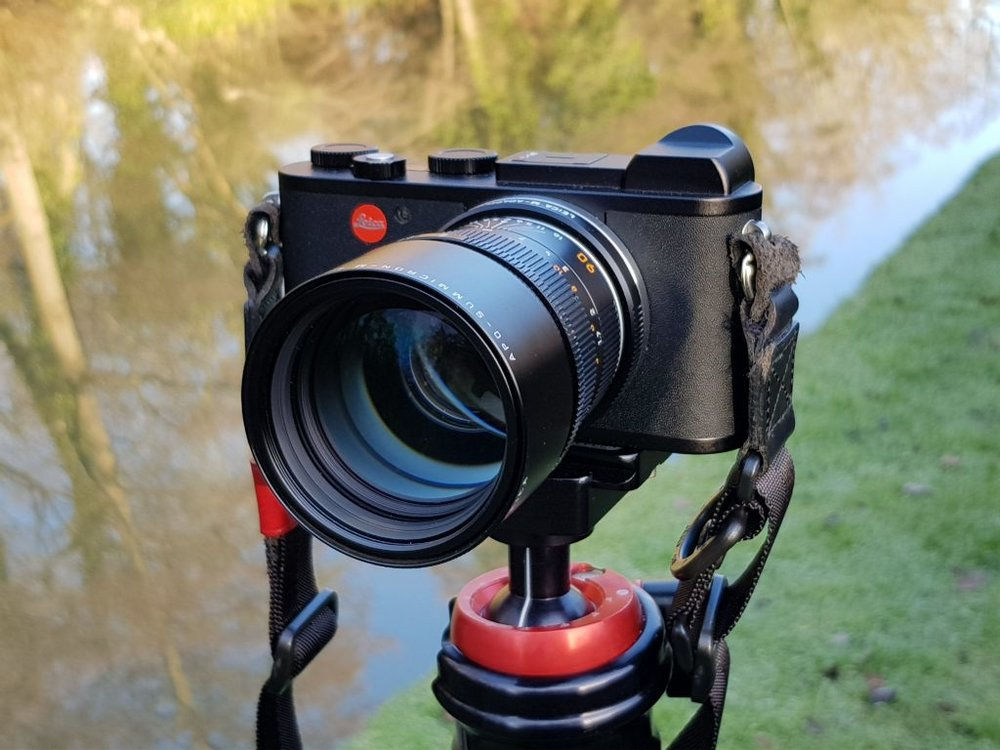 Leica CL with 90mm APO-Summicron-M ASPH