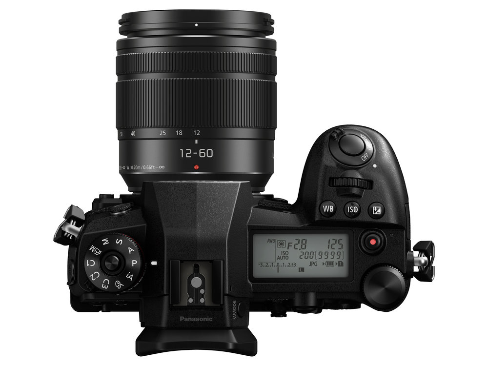 The DSLR-style information screen is a first for mirrorless cameras (other than the excellent display on the Leica SL and the inferior, tiny screen on the CL). Note the direct access buttons for white balance, ISO and exposure compensation in front of the on-off switch and the vertical control wheel. The video button can be disabled and there is tremendous versatility in function button and lever assignments