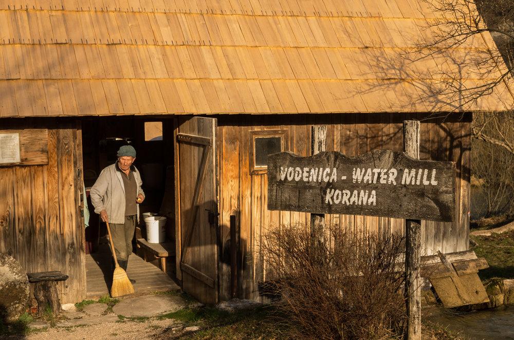 Kevin A Korana Mill 2 miller at entrance.jpg