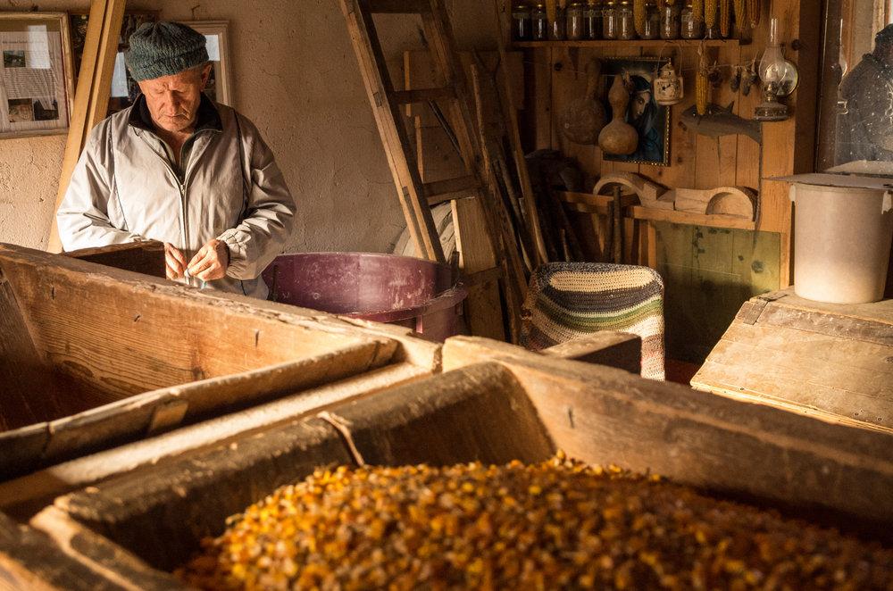 Kevin A Korana Mill 5 miller with corn in hopper.jpg