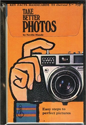 Neville Maude was something of a legend in the photographic journal world and he wrote a number of books, a couple of which I have tracked down on Amazon:    Take Better Photos    and    Black and White Developing and Printing    . The cover above features a Kodak camera of similar style to the Agfa Silette.
