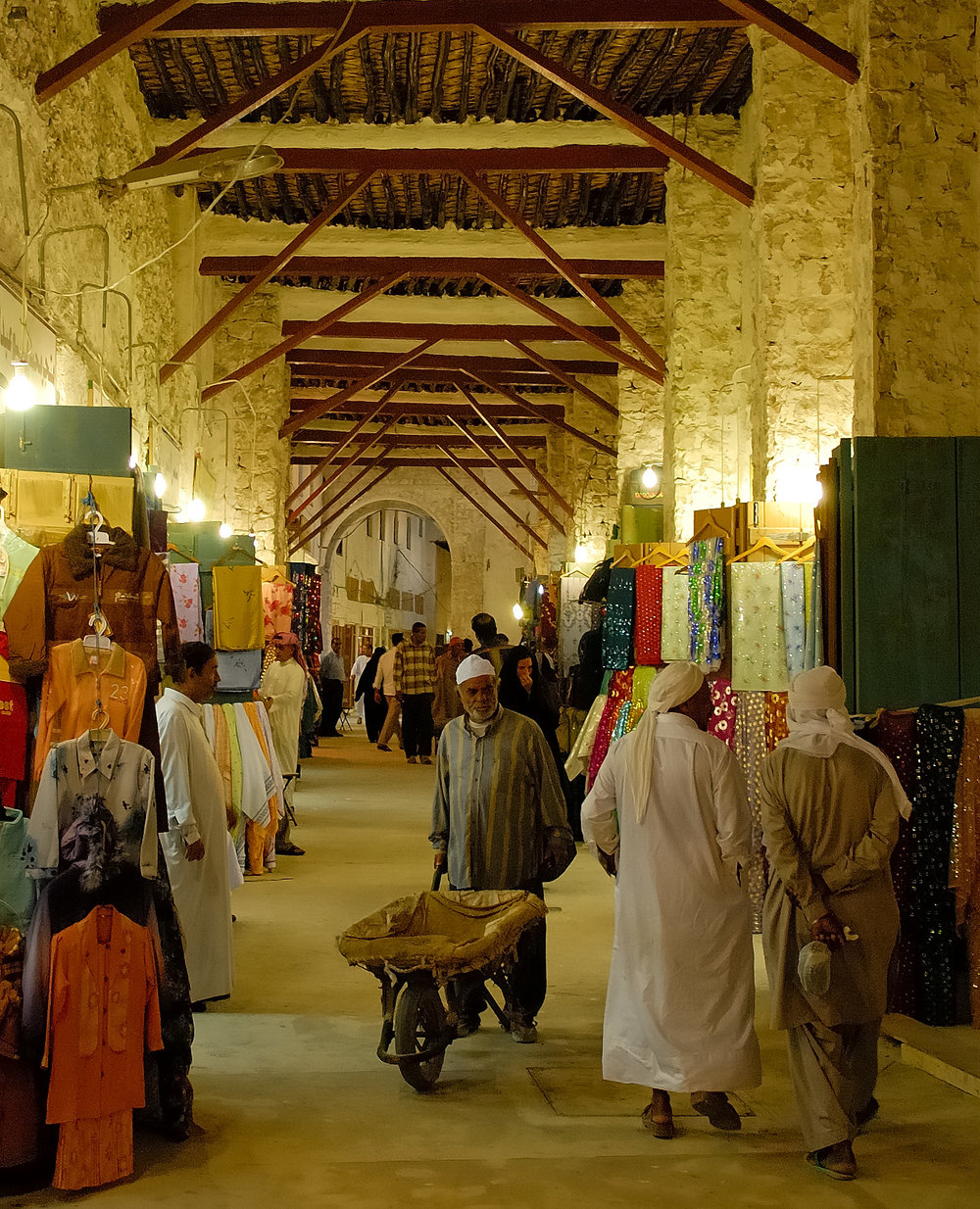 1 Going East Barrowman of Souq Waqif.jpg