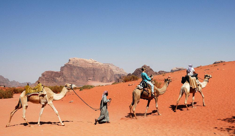 7 Going East QNHG Jordan Tour 07 Caravanserai at Wadi Rum.jpg