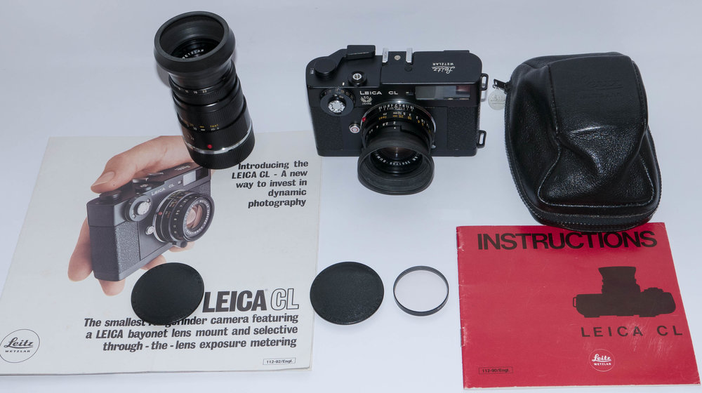 Leica CL 50th Anniversary model from William's collection (Image William Fagan)