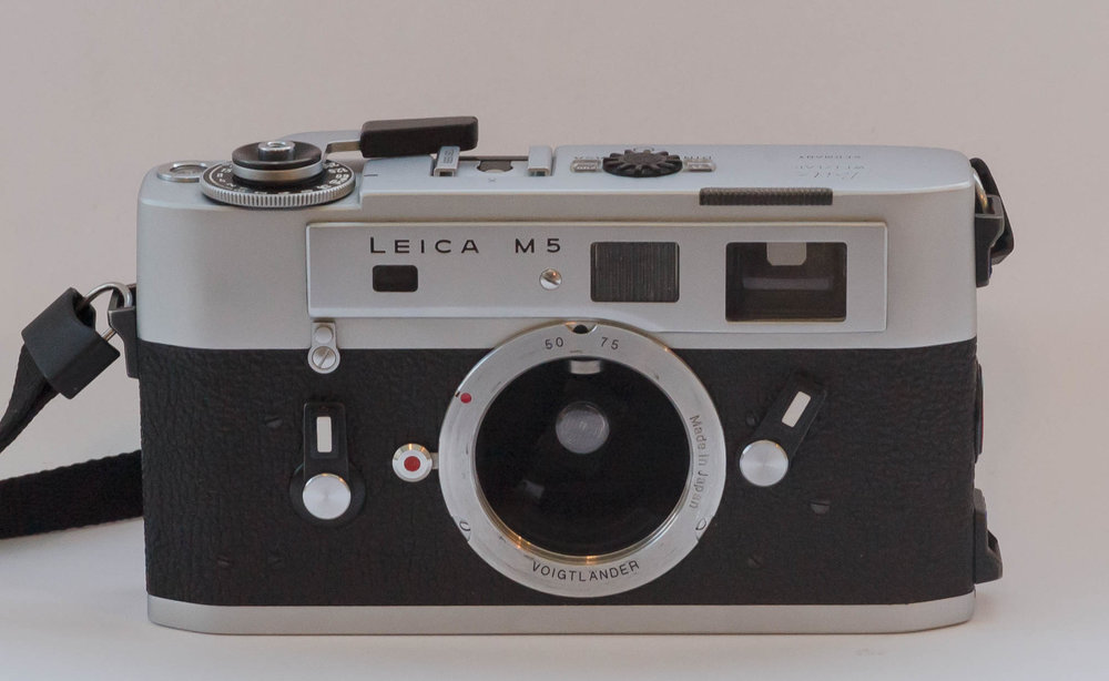 "The M5 with ""lollipop"" meter arm saying cheese for the camera (Image William Fagan)"