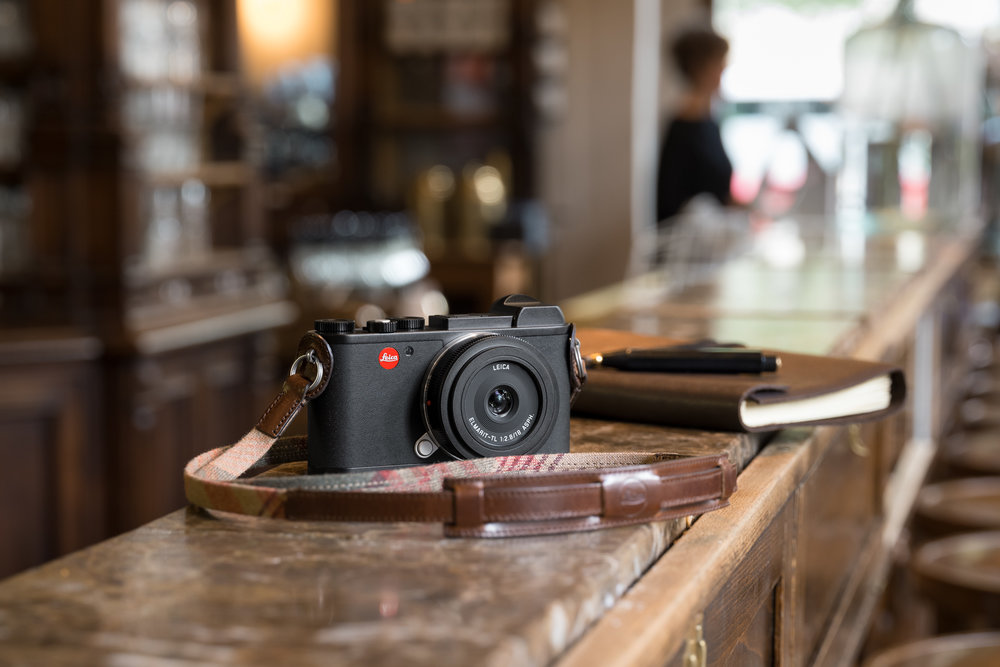 Now it's all ambience as the new digtal CL takes over the hallowed name after 40 years (Image Leica Camera AG)