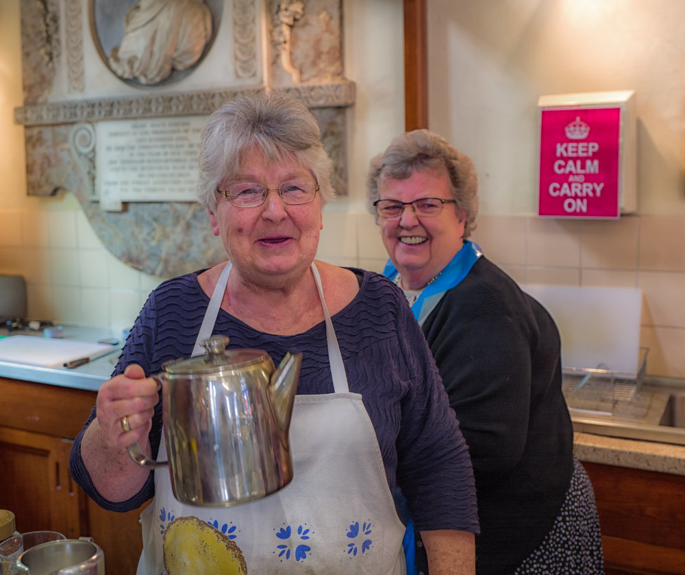 Ladies Wot Brew... When it comes to pondering over a new camera, the advice is Keep Calm and Carry On. Image by Mike Evans and Leica Q taken in the church tearooms at   Whip-Ma-Whop-Ma-Gate  , York