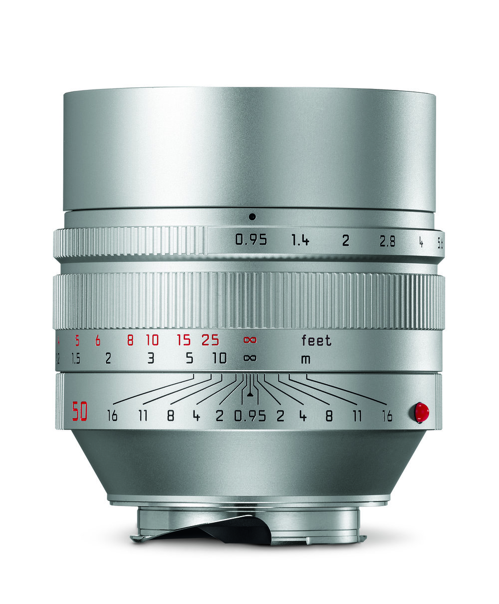 The silver version of the f/0.95 50mm Noctilux will now set you back all of £9,300