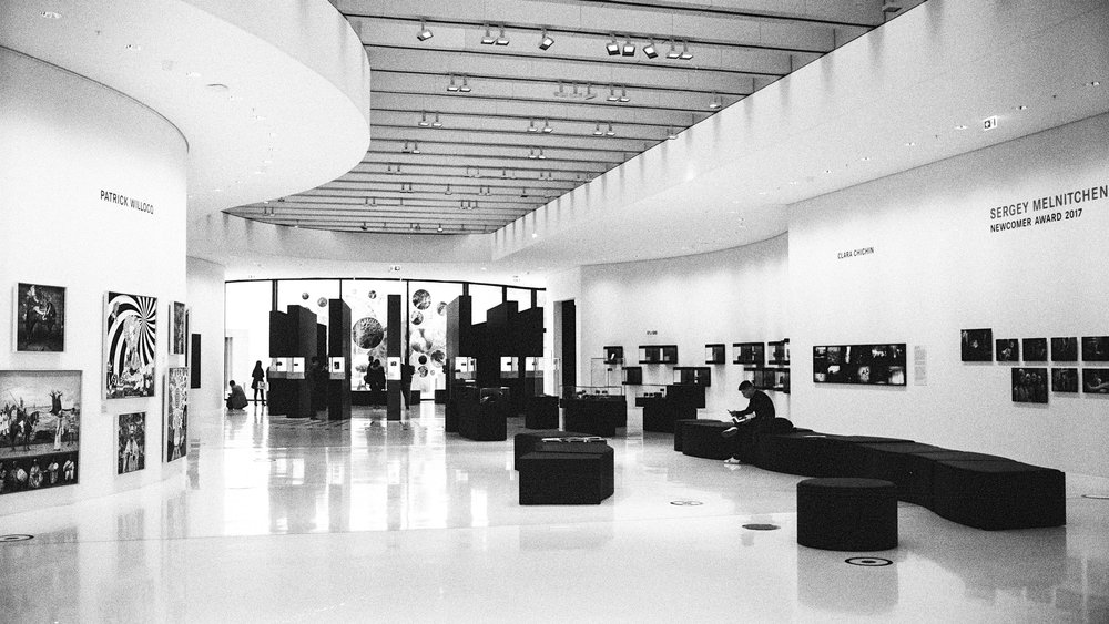 Foyer. Leica M6 TTL with 35mm Summilux, Kodak Tri-X 400, orange filter