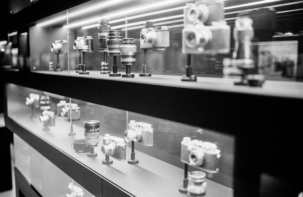 Exhibition. Leica M6 TTL with 35mm Summilux, Kodak Tri-X 400