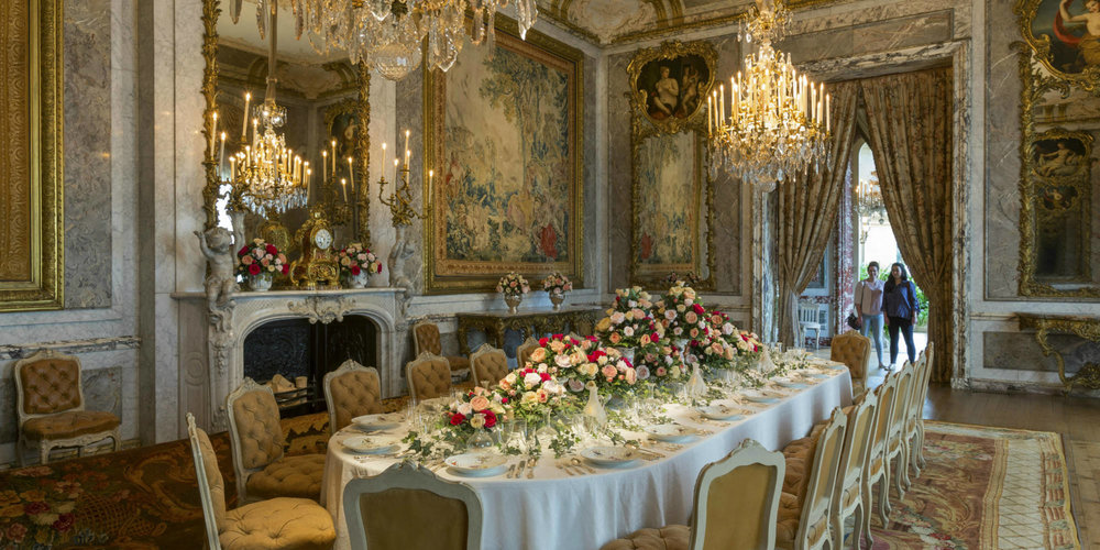 Hold on to your socks: The dining room at Waddesdon Manor, a mini Versailles (Image National Trust)