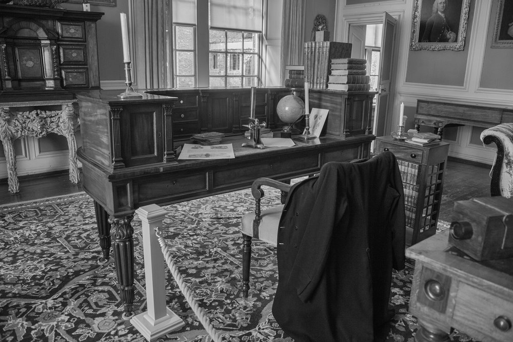 Fox Talbot's study at Lacock Abbey (image Mike Evans, Leica M10)