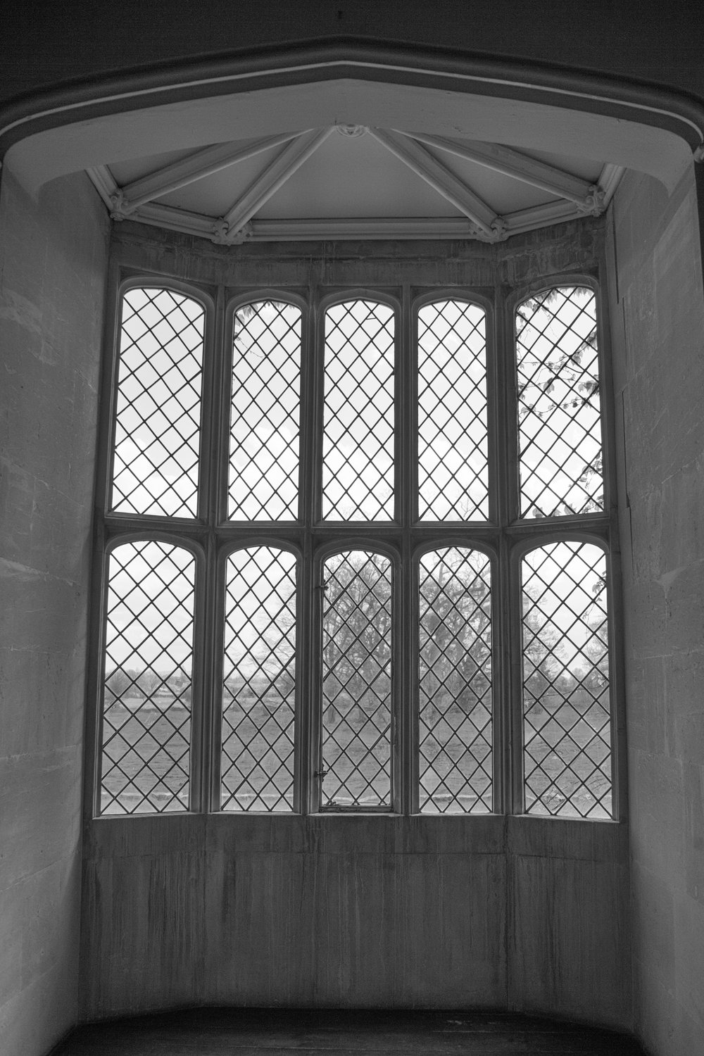 Don't forget to grab a shot of the famous latticed window when you visit Lacock Abbey (Image Mike Evans, Leica M10)