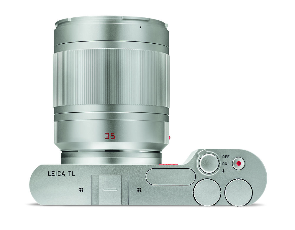 The range of TL lenses is now much improved since the introduction in 2014. But the primes are a mixed bag of capabilities. The only 50mm-equivalent lens, for instance, is this large and rather heavy f/1.4 35mm Summilux. Even without the hood it is bulky and many owners would welcome a more svelte f/2 35mm Summicron. Similarly, in the 18mm and 23mm focal lengths there is only one option  —  the f/2.8 Elmarit or f/2 Summicron respectively. (Image Leica Camera AG)