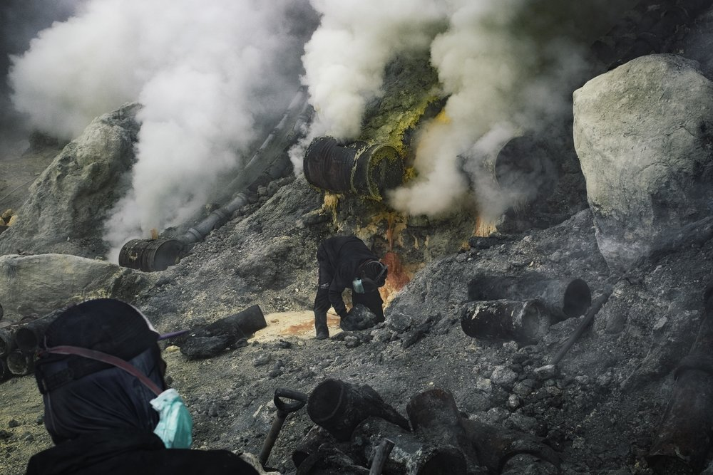 Sulpherous fumes (Image Sebastian Jacobitz)