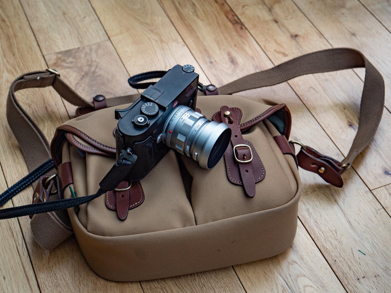 Macfilos Home Review Billlingham Hadley Small Pro Billingham One Black Canvas Tan Leather