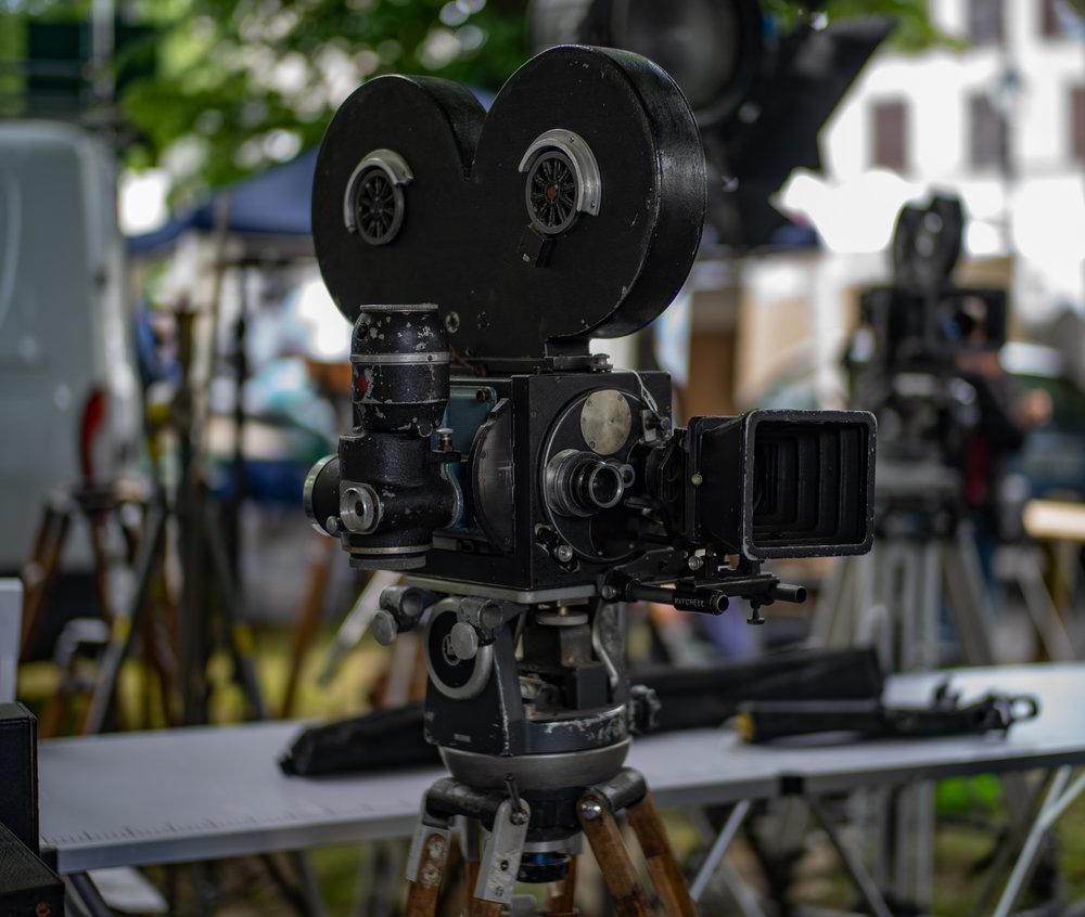 Cameras, lights, action
