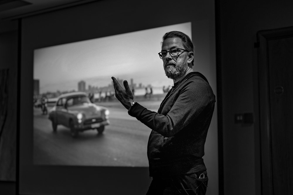 Thorsten von Overgaard at the Leica Society meeting, taken with the Leica M10