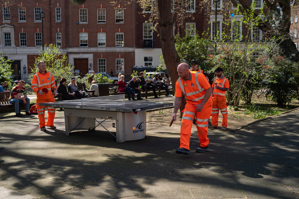 Hi-viz ping pong with the Leica M10