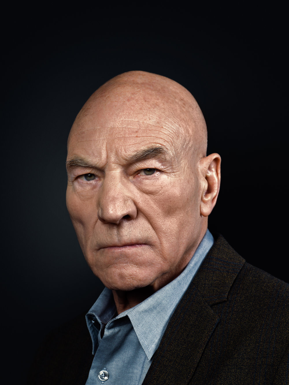 Sir Patrick Stewart by Rory Lewis
