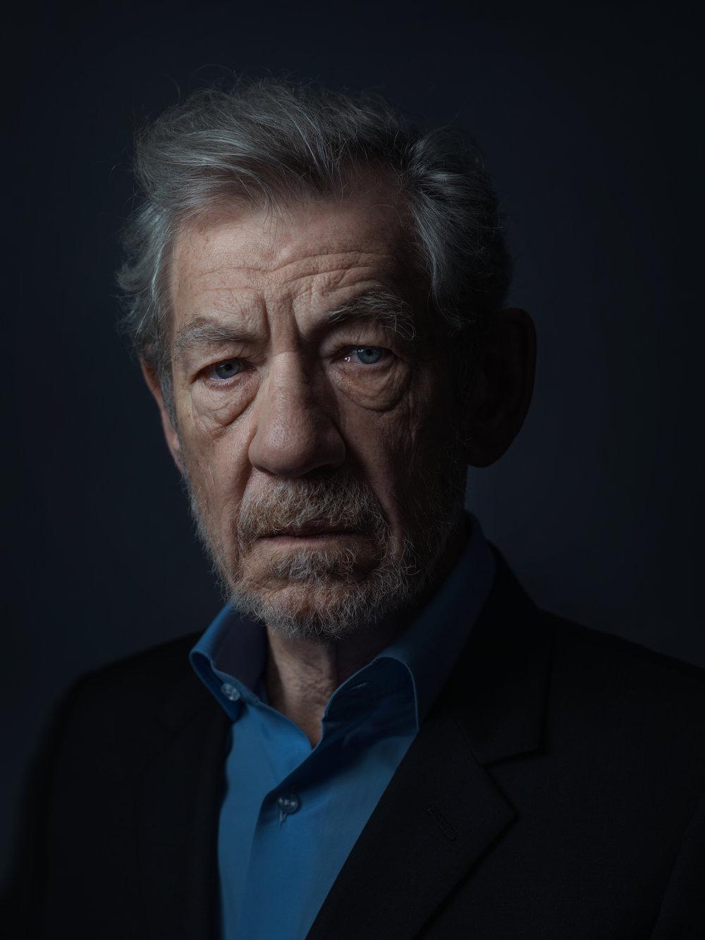 Sir Ian McKellen by Rory Lewis
