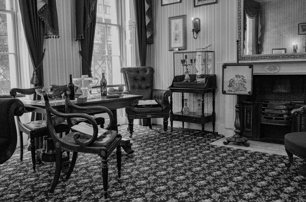 Inside Dickens' home at 38 Doughty Street
