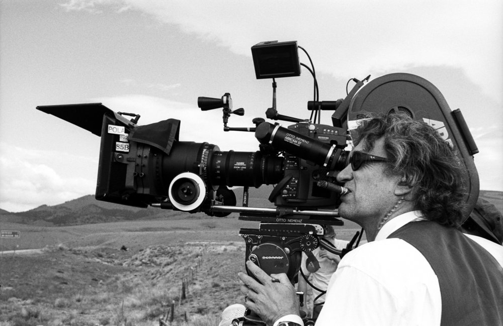Who needs an iPhone? (both images taken from Wim Wenders' press kit)