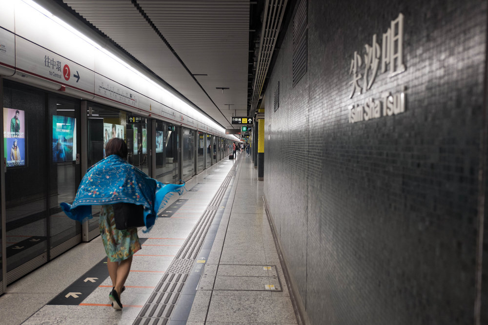 Tsim Sha Tsui station, gateway to the best photographic stores in Hong Kong