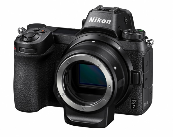 The FX adapter is being bundled with camera bodies at a knock-down £100 extra because Nikon realises that existing customers with shelves full of lenses need to be encouraged to make the switch to the Zeds.