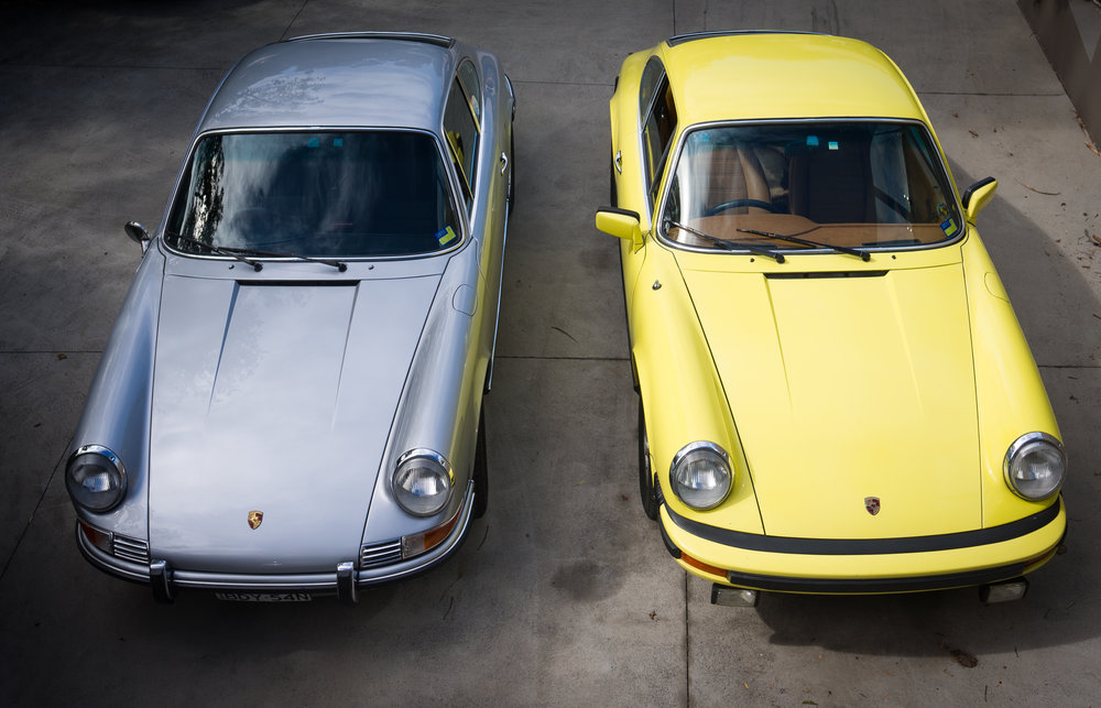 The two beauties on my driveway
