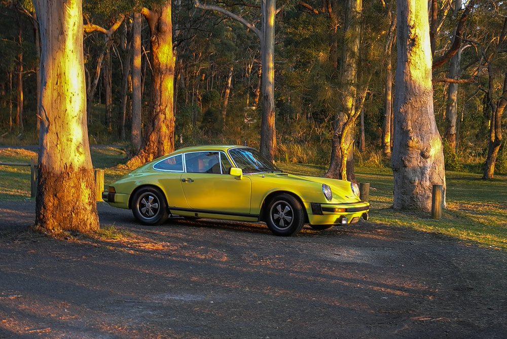 The 2.7 at sunset, Myall Lakes National Park, NSW, last week