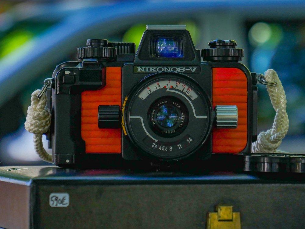 Nikonos resurfaces. (Image Mike Evans, Panasonic GX8 and Leica DG 12-60mm)