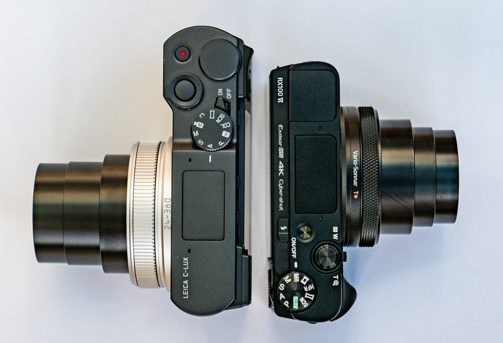 Above, the magnificent duo in repose at 24mm. Below, on the job at full chat