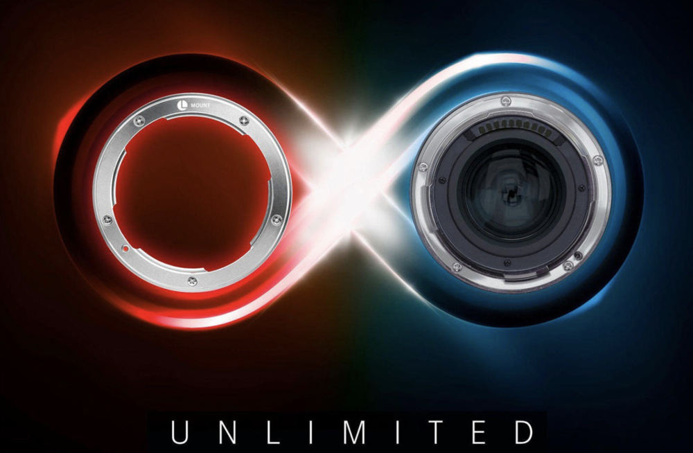The teaser image from Leica's unannounced l-mount.com website which has now been removed. What could this mean?