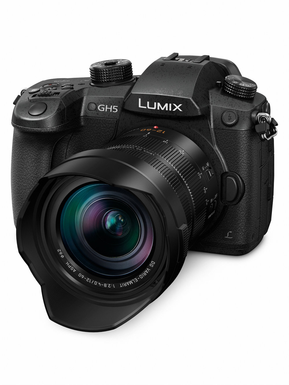 Rumours are suggesting that Panasonic could be about to launch a series of full-frame mirrorless cameras to compete with Sony, Nikon and Canon — and they could be based on the chassis of the m4/3 GH5 which is almost certainly big enough. And the Leica L-mount is tipped as the basis of the new system. But, then again, these are just rumours. It's no coincidence, either, that the lens on this GH5 is the Leica-branded 12-60mm DG Vario-Elmarit. It could constitute a precedent.