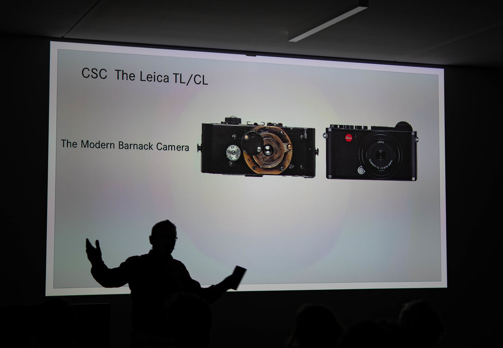 Peter Karbe embraces the modern Barnack cameras, the CL and the TL